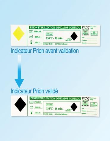 Pack Traçabilité  Dentaire(1 Dispositif Helix 100 tests+500 intégrateurs Prion)