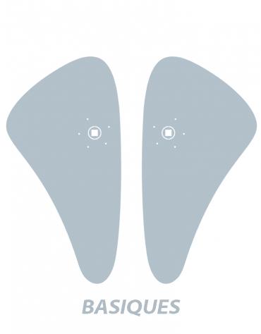 Paire de plaques de propreté