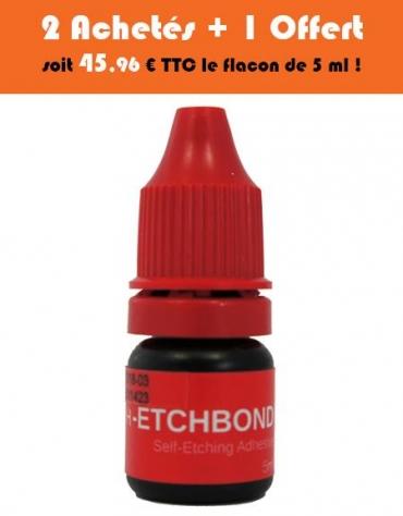 Adhésif automordançant H-EtchBond Flacon de 5 ml