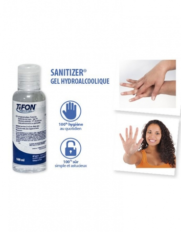 Gel Mains Sanitizer Flacon 100ml