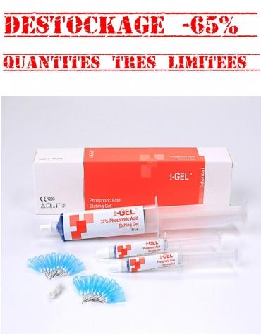 Gel de Mordançage Acide Phosphorique 37%  I-Gel JUMBO