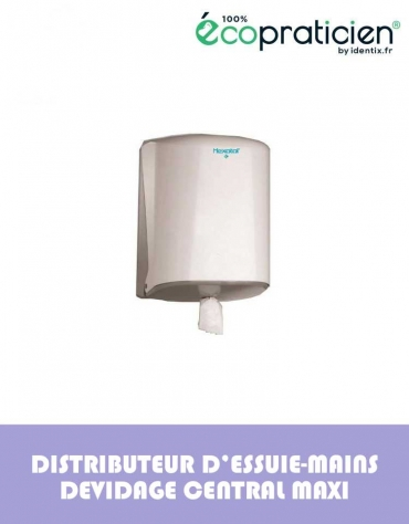 Distributeur pour bobine à dévidage central type maxi