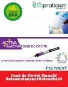 ACTIVA BIOACTIVE Fond de Cavité  seringue de 5ml et 20 embouts directionnels .