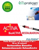 Pack Réassort ACTIVA BIOACTIVE Restauration Seringue 5 ml/7gr avec embouts