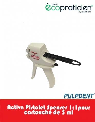 ACTIVA pistolet  spenser 1:1 pour seringue de 5 ml