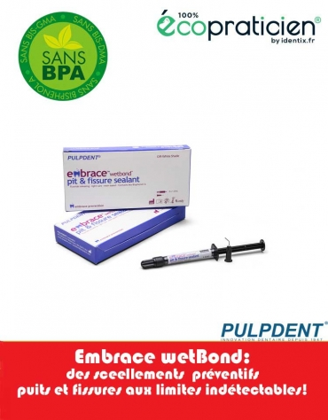Sealant Embrace:Kit de 4 seringues de 1,2 ml + 20 embouts