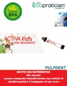 Pack Réassort ACTIVA BIOACTIVE KIDS Seringue 5 ml/7gr avec embouts