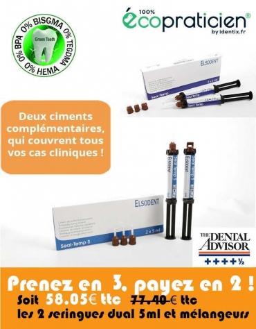 Seal Temp Ciment provisoire à base de résine