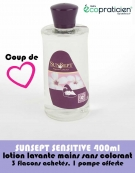 Lotion Lavante 400ml SUNSEPT Sensitive
