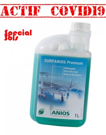 SURFANIOS PREMIUM Nettoyant Désinfectant  Sols Flacon doseur 1L