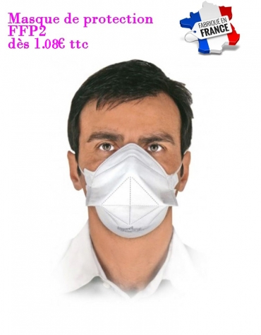 Masques Protection FFP2 Conditionnement de 10