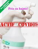 Nettoyant Désinfectant Rapide des Surfaces .Actif sur Coronavirus  INNOLIN Rapid Plus flacon de 1l