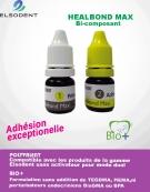 HEALBOND  MAX Bio+ Adhésif , auto mordançant Kit 2 Flacons(Adhésif+Primer) de 5ml